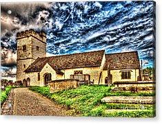 St Sannans Church Bedwellty Acrylic Print by Steve Purnell