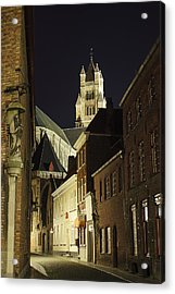 St Saviour Cathedral  Acrylic Print by Adam Romanowicz