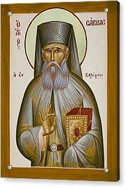St Savvas Of Kalymnos Acrylic Print