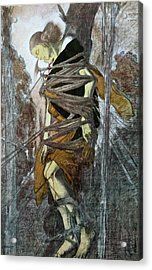 St. Sebastian, From The Martyr Of St Acrylic Print