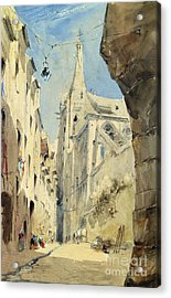 St. Severin Paris Acrylic Print by James Holland