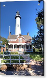 St. Simons Island Light Station Acrylic Print