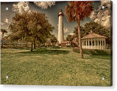 St. Simon's Island Lighthouse Acrylic Print