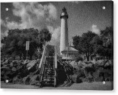 St. Simon's Lighthouse 3 Acrylic Print