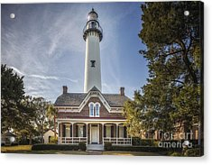 St. Simons Lighthouse Acrylic Print