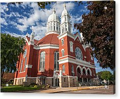 St. Stan's Front Full View Acrylic Print