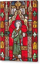 Saint Stephen Acrylic Print by English School