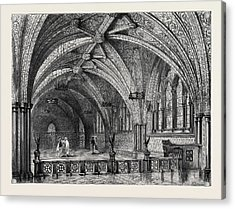 St. Stephens Crypt, Westminster, London Acrylic Print
