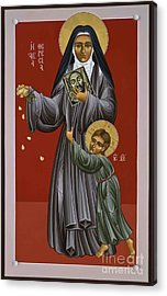 St. Therese Of Lisieux Doctor Of The Church 043 Acrylic Print