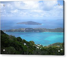 St-thomas Virgin Islands Usa Acrylic Print