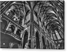 St Vitus Cathedral Prague Acrylic Print