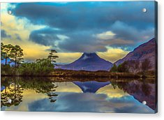 Stac Polly In The Scottish Highlands Acrylic Print by Tylie Duff