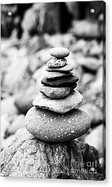 Stack Acrylic Print by Anne Gilbert