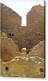 Stacked Doorways Acrylic Print by Feva  Fotos