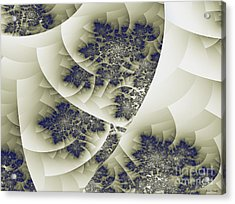 Acrylic Print featuring the digital art Stactal The Fractal by Arlene Sundby