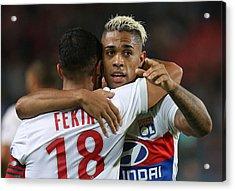 Stade Rennais V Olympique Lyonnais - Ligue 1 Acrylic Print by Jean Catuffe