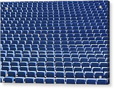 Stadium - Seats Acrylic Print