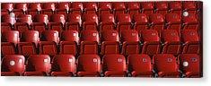 Stadium Seats Acrylic Print by Panoramic Images