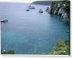 Stafylos Beach Acrylic Print by Katerina Kostaki