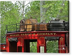 Stage Coach Acrylic Print by Rick  Monyahan