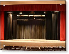 Stage Curtain 2 Acrylic Print by Jondpatton