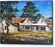 Stage Stop In Cresson Tx Acrylic Print