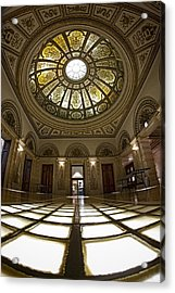 Stain Glass Rotunda Acrylic Print