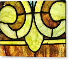 Stained Glass 3 Acrylic Print by Tom Druin