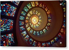 Stained Glass Acrylic Print by Gianfranco Weiss