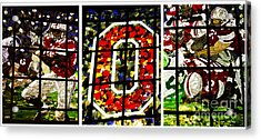 Stained Glass At The Horseshoe Acrylic Print by David Bearden
