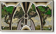Stained Glass Collage Sgc1 Acrylic Print by Pemaro