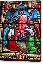 Acrylic Print featuring the photograph Stained Glass by Ed Weidman