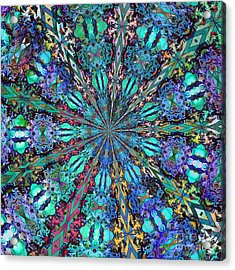 Acrylic Print featuring the photograph Stained Glass by Geraldine DeBoer