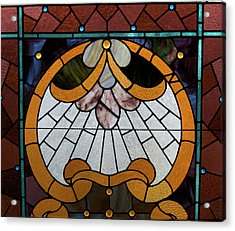 Stained Glass Lc 09 Acrylic Print by Thomas Woolworth