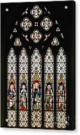 Stained-glass Window 1 Acrylic Print by Susie Peek