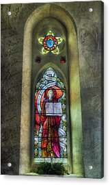 Stained Glass Window Art Acrylic Print by Ian Mitchell
