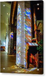 Stained Light Acrylic Print by Ross Henton