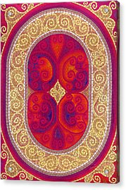 Stainglass Acrylic Print