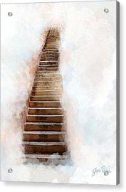 Stair Way To Heaven Acrylic Print