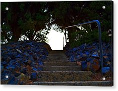 Acrylic Print featuring the photograph Stair Way To Heaven  by Naomi Burgess