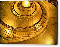 Stair Way To Justice Acrylic Print by John S