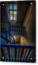 Staircase Blues  Acrylic Print by Nathan Wright