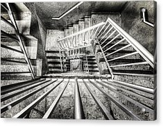 Staircase I Acrylic Print by Everet Regal