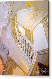 Acrylic Print featuring the photograph Staircase In Wood by Michael Edwards