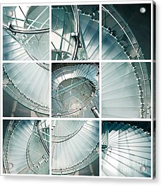 Staircase Jigsaw Acrylic Print
