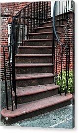 Staircase Acrylic Print by John Rizzuto