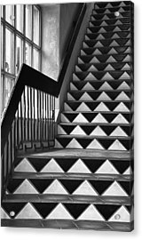 Acrylic Print featuring the photograph Staircase Santa Fe New Mexico by Ron White