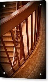 Stairs Around Acrylic Print