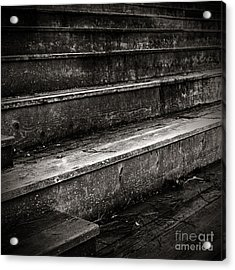 Stairs Infinity Acrylic Print by Charmian Vistaunet