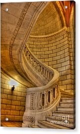 Stairs Of Mythical Proportion Acrylic Print by David Bearden